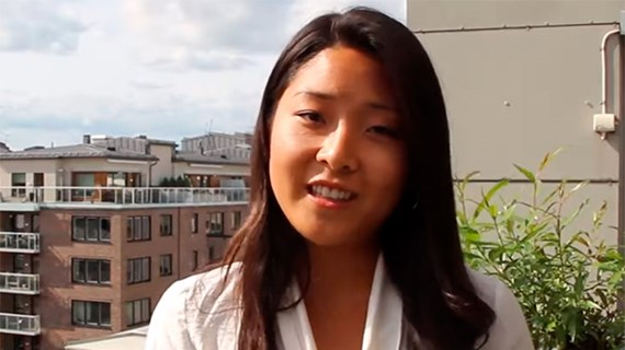 Lollo Liu, summer intern, Sweden